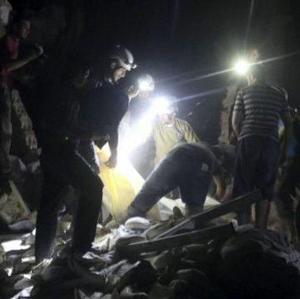 Serangan Udara Menghantam Rumah Sakit di Aleppo