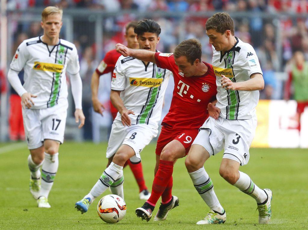 Diimbangi Moenchengladbach, Bayern Gagal Pastikan Gelar Juara