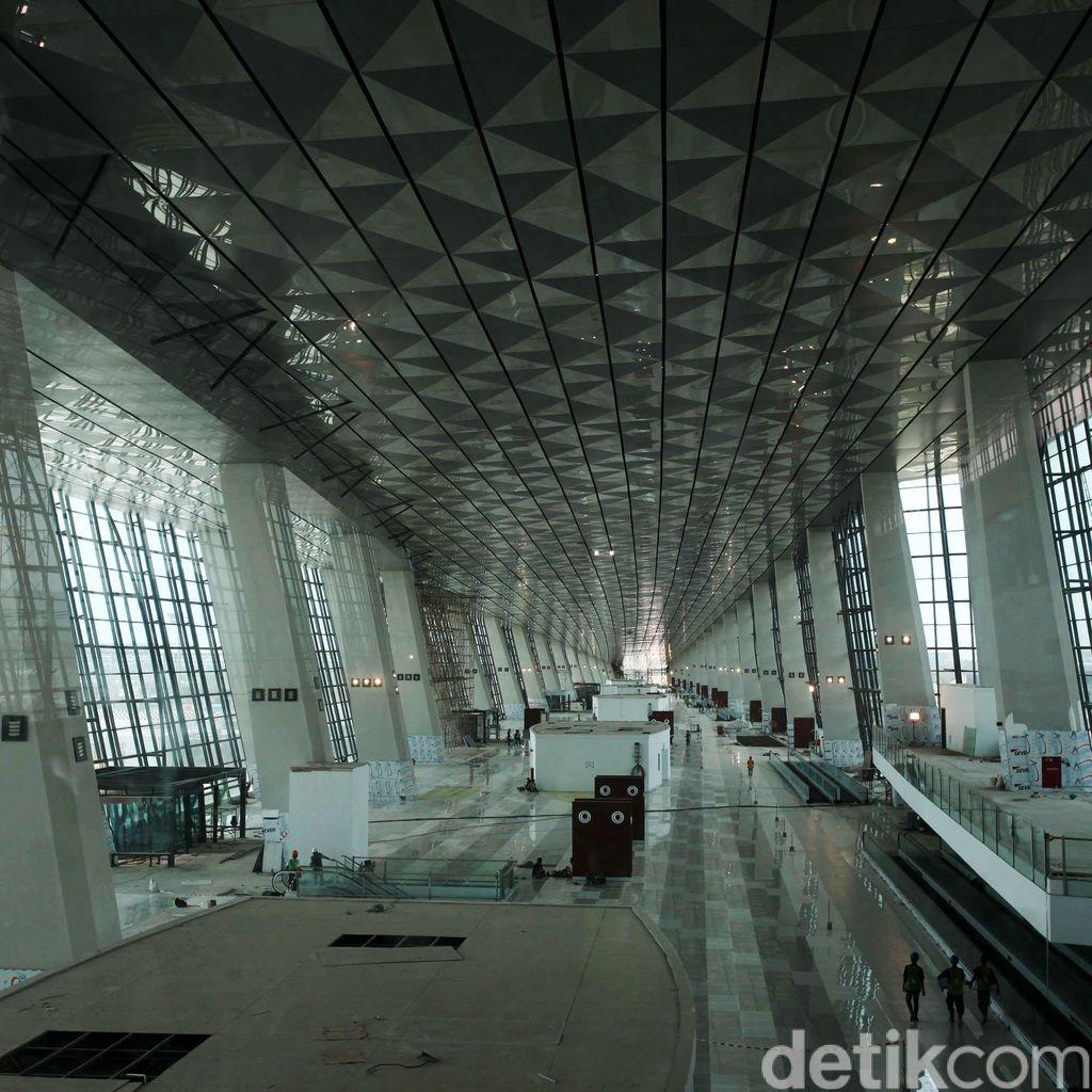 Pembangunan Terminal 3 Ultimate Soekarno-Hatta Dikebut