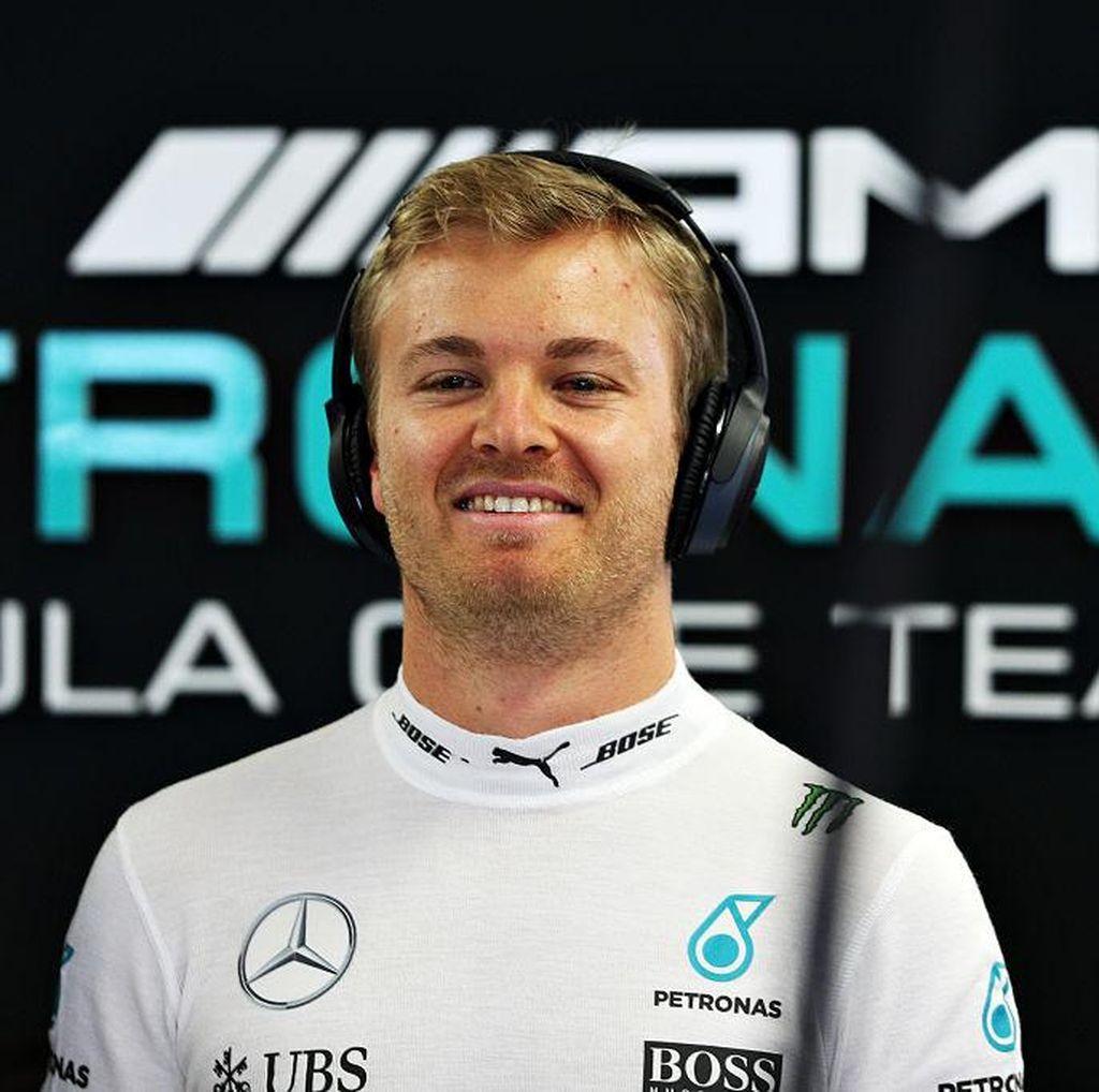 Rosberg Tak Terlena dengan Pole, Tetap Waspadai Para Rival di Balapan