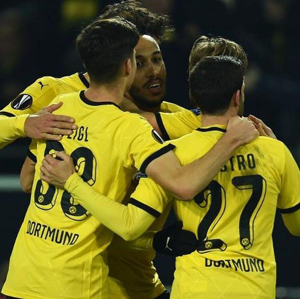 Dortmund Hantam Wolfsburg, Terus Tekan Bayern Hingga Akhir