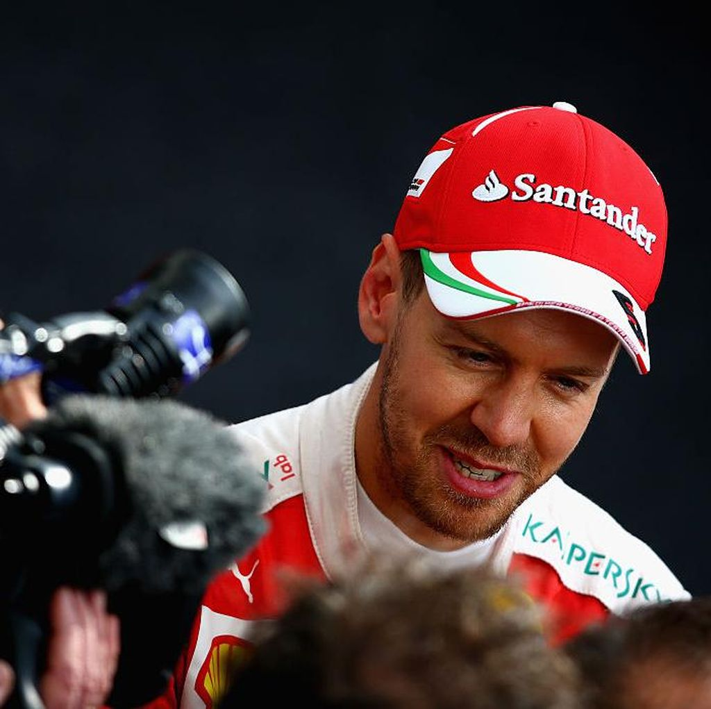 Terkait Penalti dan Hasil Kualifikasi, Ini Tekad Vettel Saat Balapan Nanti