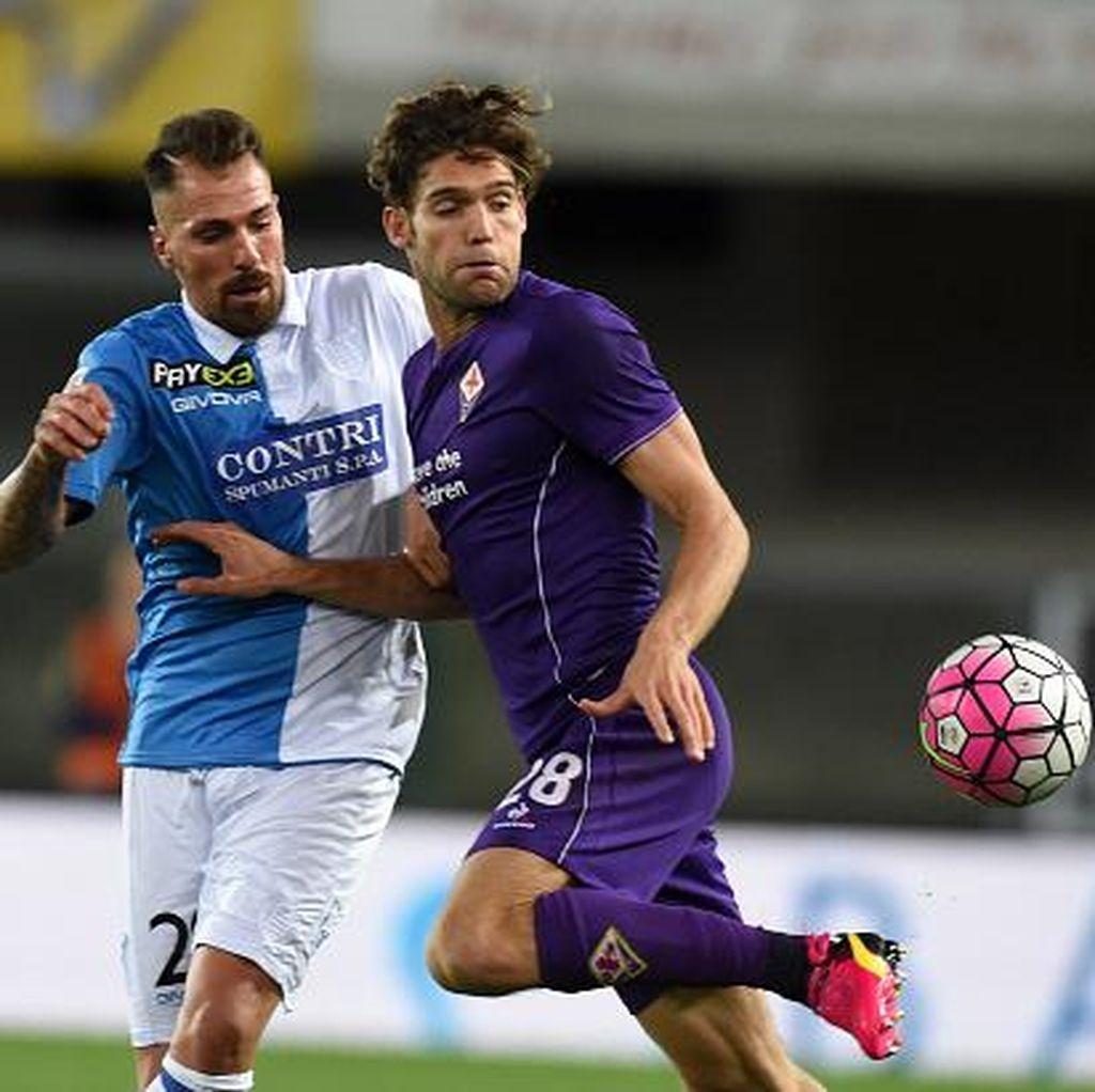 Fiorentina Imbang Tanpa Gol dengan Chievo