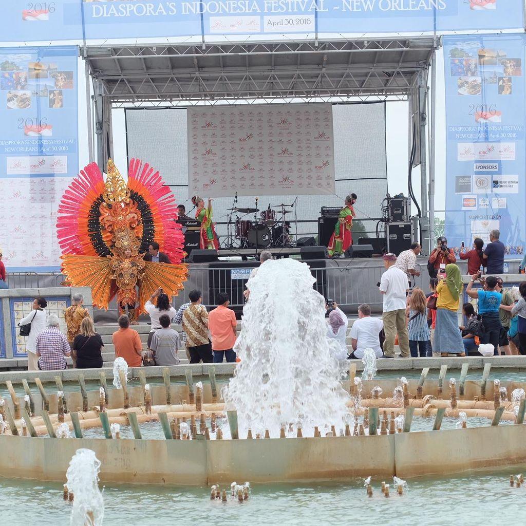 Diaspora Indonesia Gelar Wonderful Indonesia Festival di New Orleans