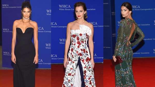 Deretan Aktris dan Model Cantik di Gedung Putih, Siapa Paling Menawan?