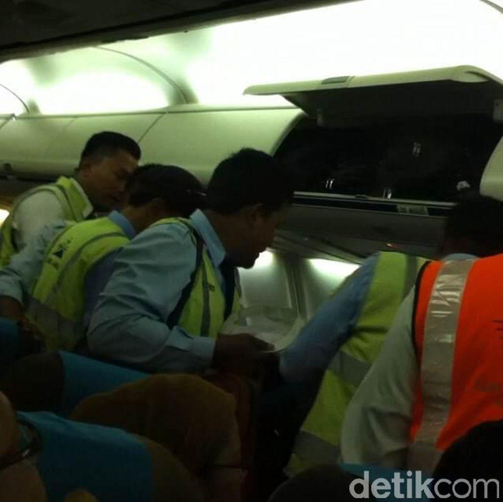 Ngamuk dan Mengaku Pejabat, Pria ini Diturunkan dari Pesawat