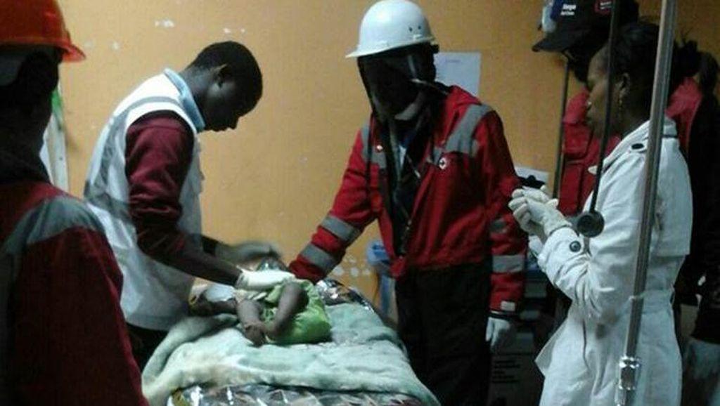 4 Hari Tertimpa Reruntuhan Gedung di Kenya, Bayi Perempuan Selamat