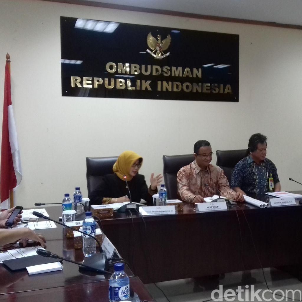 Ombudsman Adukan Temuan UN SMA ke Mendikbud