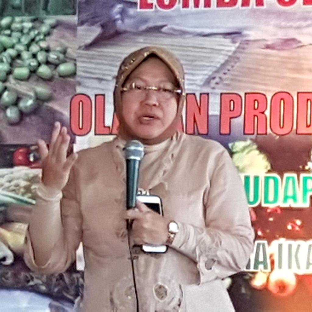 Risma: Saya Tak Akan Meninggalkan Surabaya