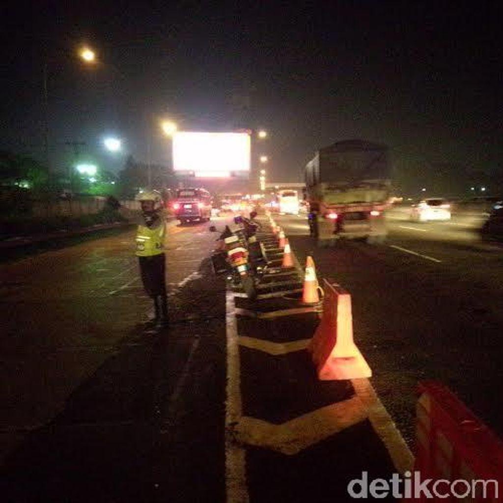Tol Cikampek Lancar Jaya, Kendaraan Bisa Melaju di Atas 70 Km/Jam