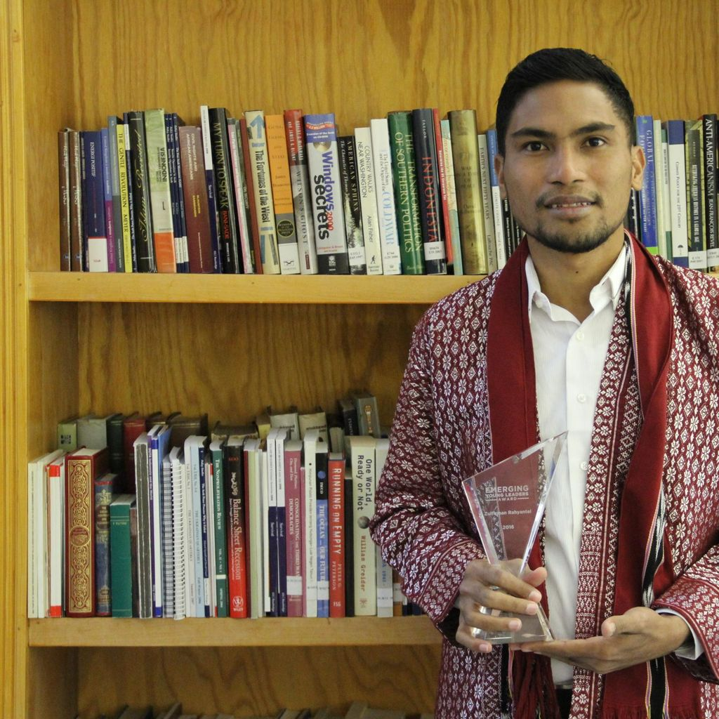 Dorong Perdamaian, Pemuda Ini Dapat Penghargaan dari Kemlu AS