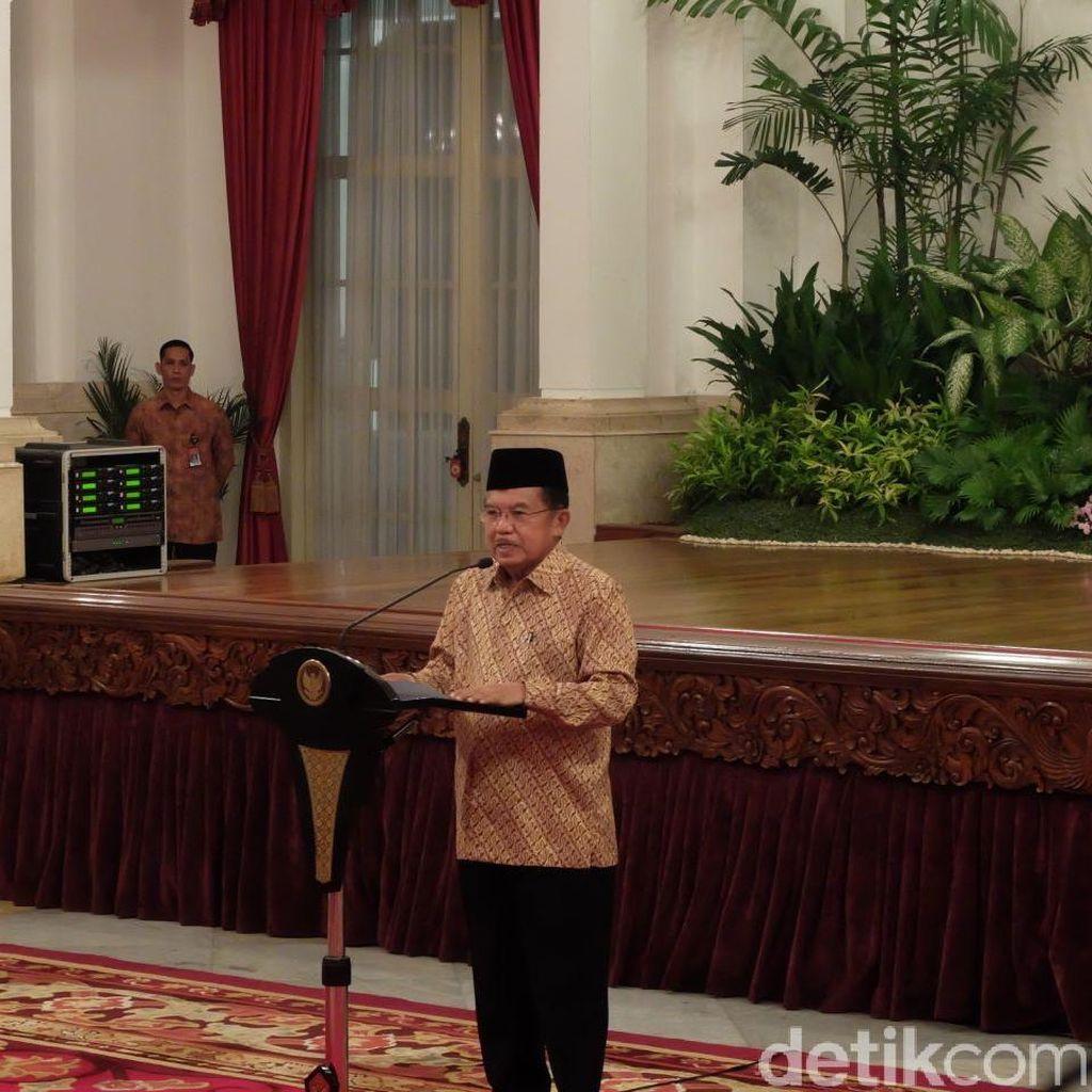 Peringatan Isra Miraj, JK Bicara Soal Presiden Panggil Menteri Tengah Malam