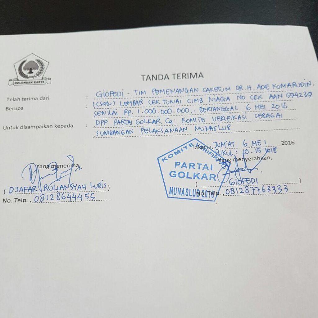 Bamsoet: Akom Terpaksa Setor Mahar Caketum Golkar Rp 1 Miliar