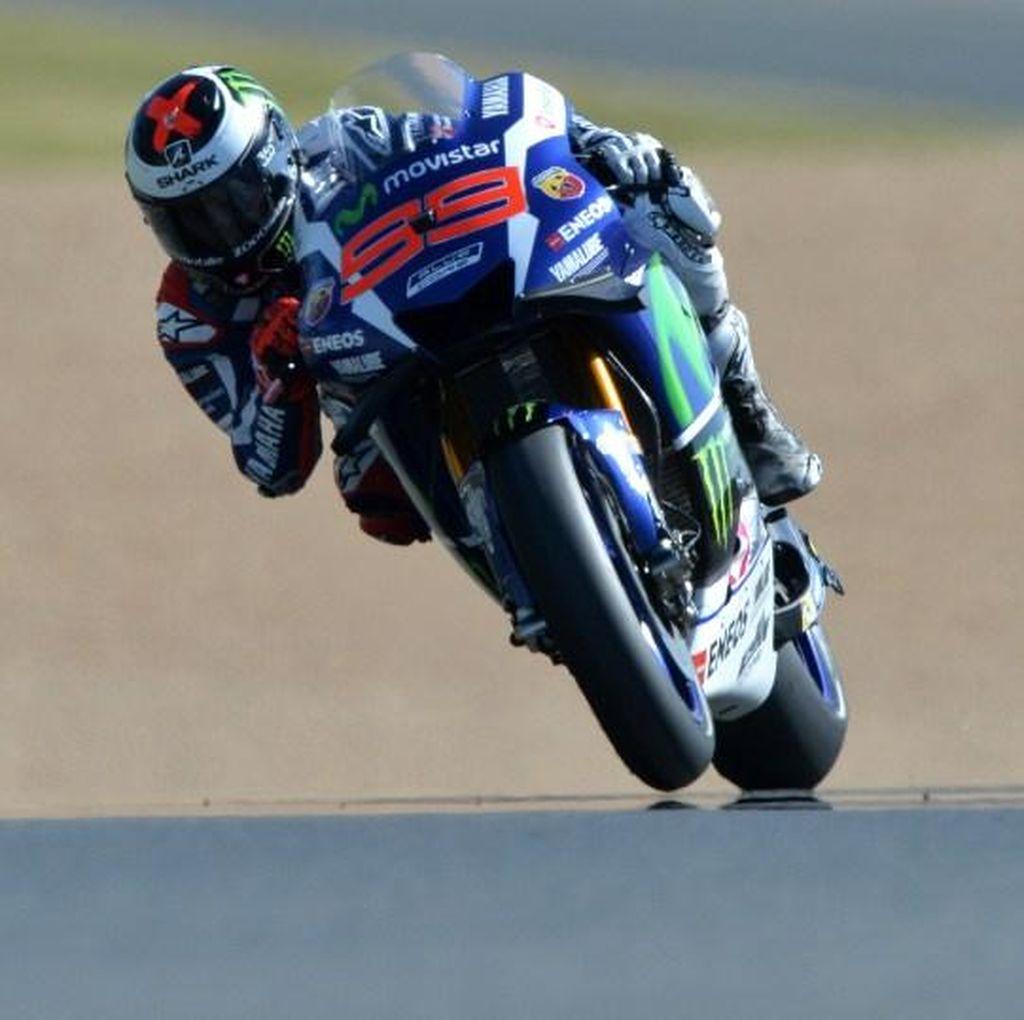 Giliran Lorenzo Tercepat, Rossi Kesepuluh