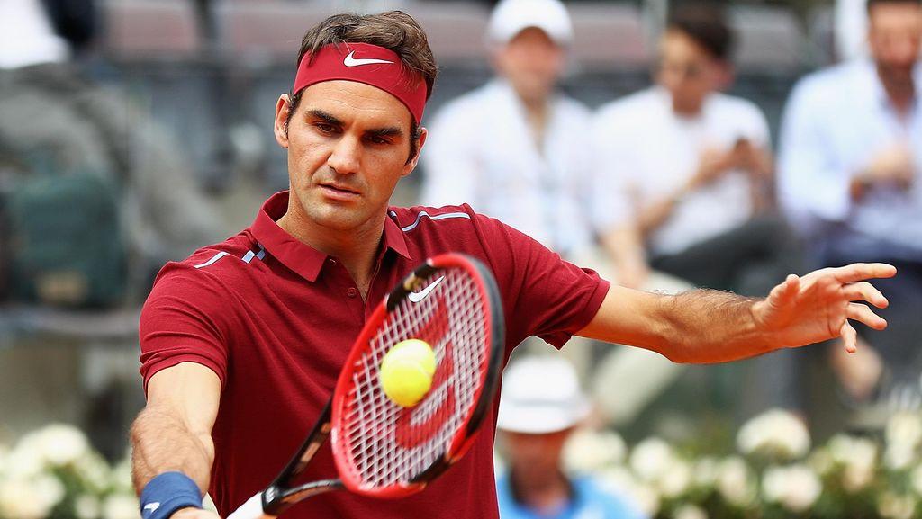 Federer Masih Ingin Main Bertahun-tahun Lagi