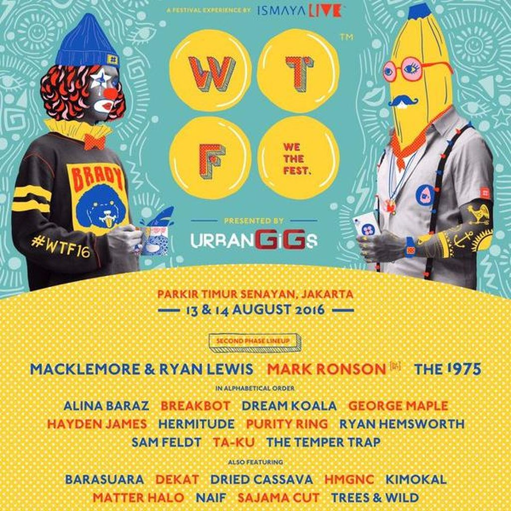 We The Fest 2016 Ajak Anak Muda Tampil Lewat Karya