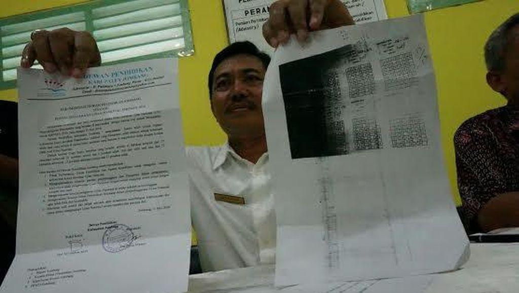 Polisi Buru Penyebar Kunci Jawaban UN SMP di Jombang