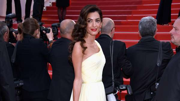 George Clooney dan Istrinya yang Menawan di Festival Film Cannes 2016
