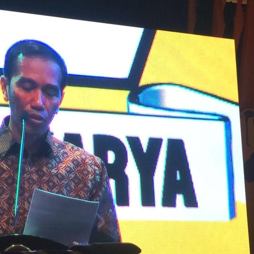 Golkar Buka-bukaan Alasan Usung Jokowi di Pilpres 2019