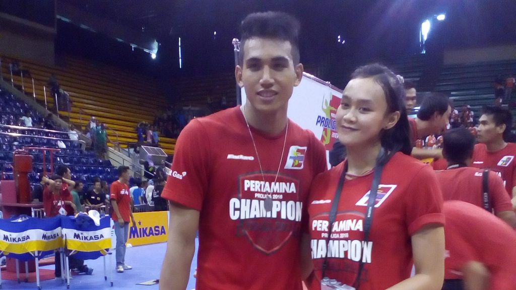 Rendy dan Wilda, Sejoli Juara Proliga 2016