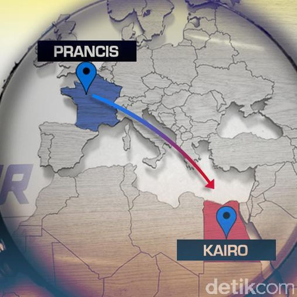 Sebelum Jatuh, Pilot EgyptAir Sempat Berkomunikasi dengan ATC Mesir