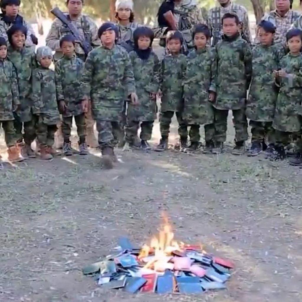 Pemerintah Masih Selidiki Video Anak Indonesia Dilatih ISIS
