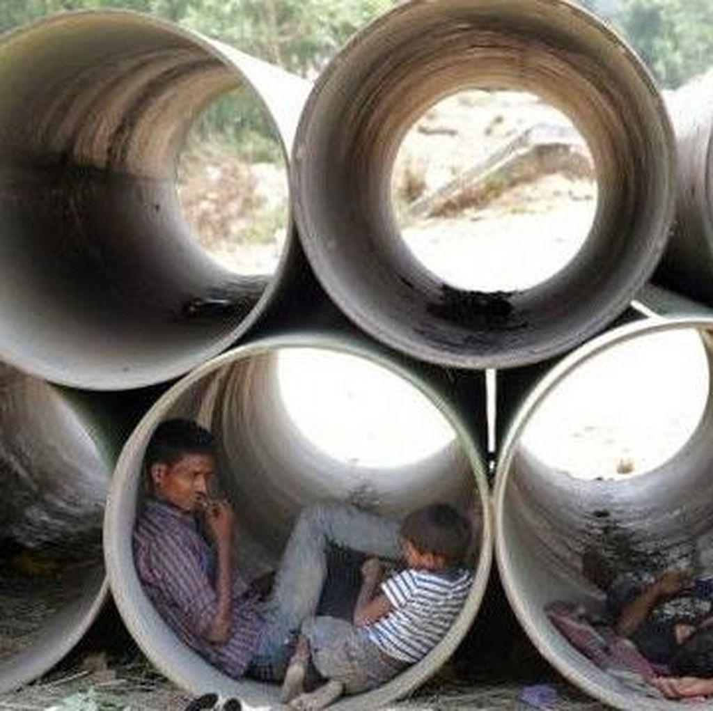 India Catat Rekor Cuaca Terpanas 51 Derajat Celsius