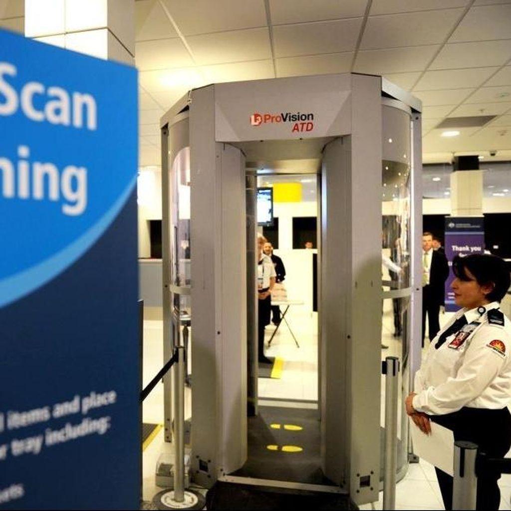 Pemindai Seluruh Tubuh Mulai Diujicobakan di Bandara Canberra