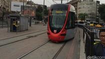 Menjajal Metro dan Trem Tertua di Istanbul