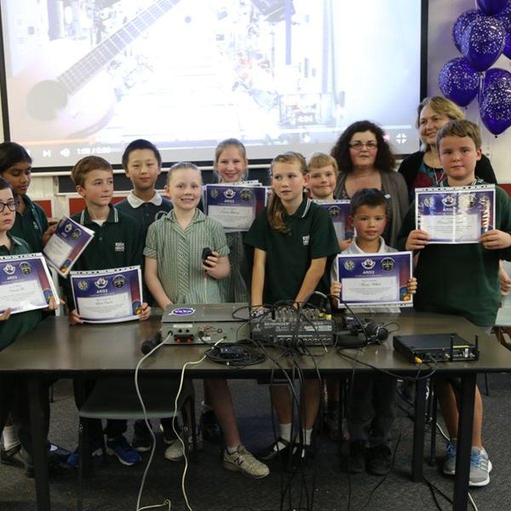 Kala Murid SD di Melbourne Berbincang dengan Astronot di Angkasa Luar