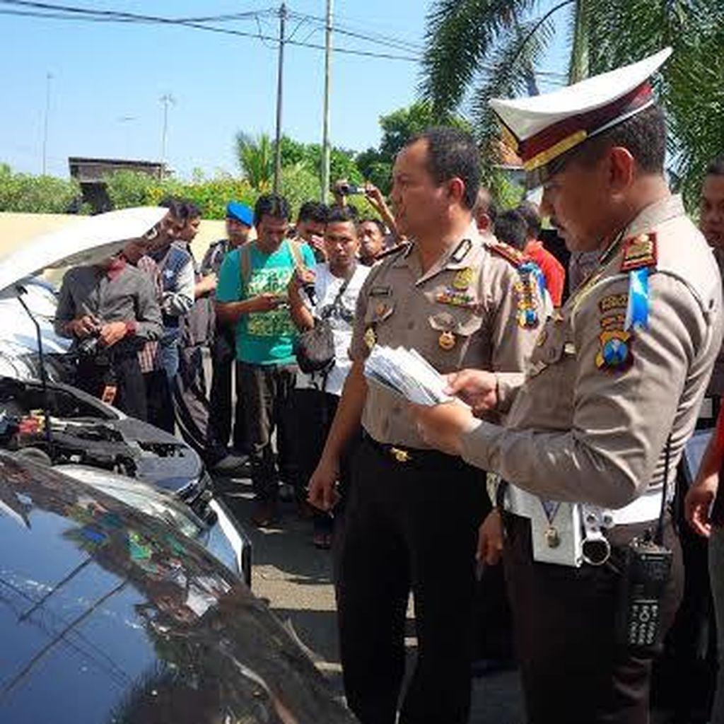 Sembilan Mobil Bodong Diamankan Polres Probolinggo