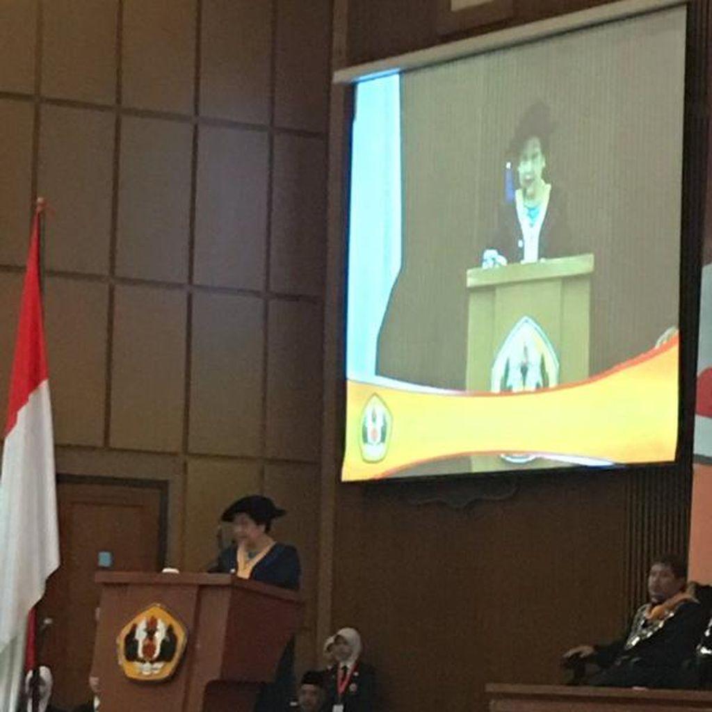 Megawati Sampaikan 3 Pertanggungjawaban Sejarah dalam Orasi Ilmiahnya di Unpad
