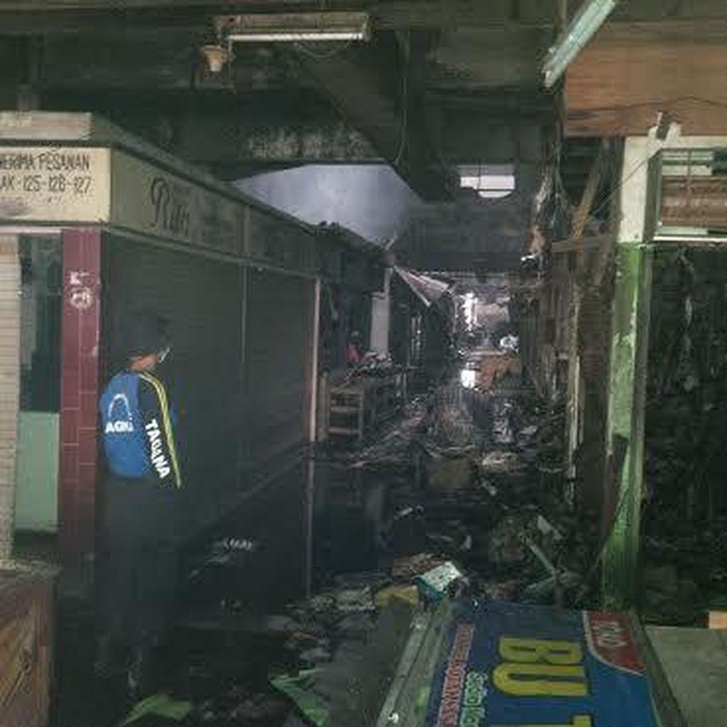 3.300 Lapak Pedagang Pasar Besar Malang Ludes, Kerugian Miliaran Rupiah