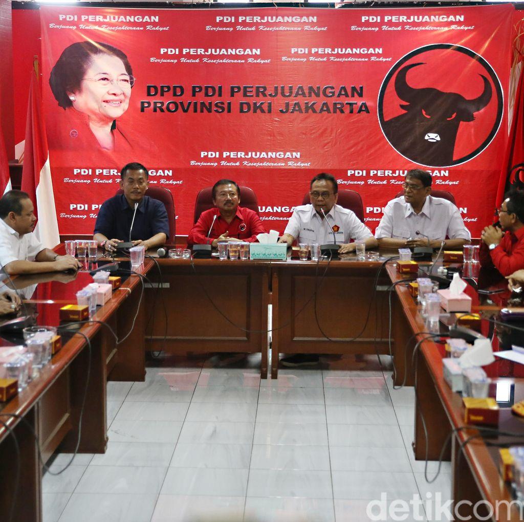 Siapkan Penantang Ahok, PDIP Rangkul Gerindra, PKS, PAN, PD dan Golkar
