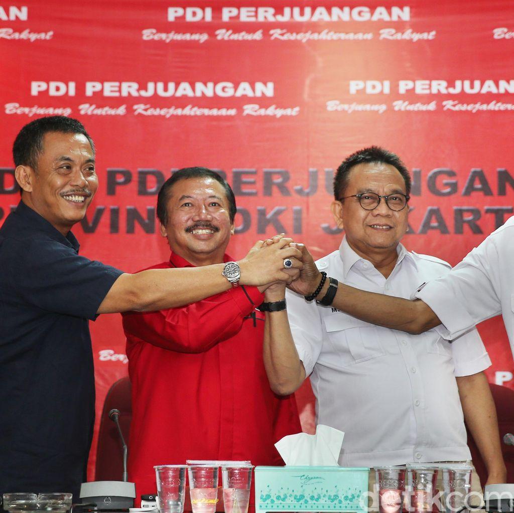 Cinta Lama PDIP-Gerindra Bersemi Kembali Jelang Pilgub DKI