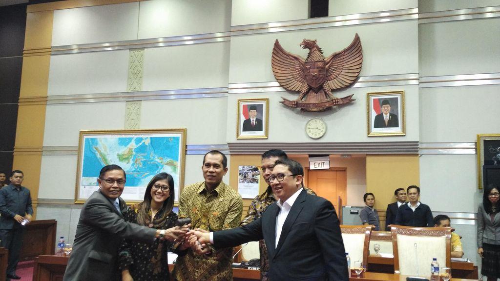 Mahfudz Siddiq Resmi Lengser dari Kursi Ketua Komisi I DPR
