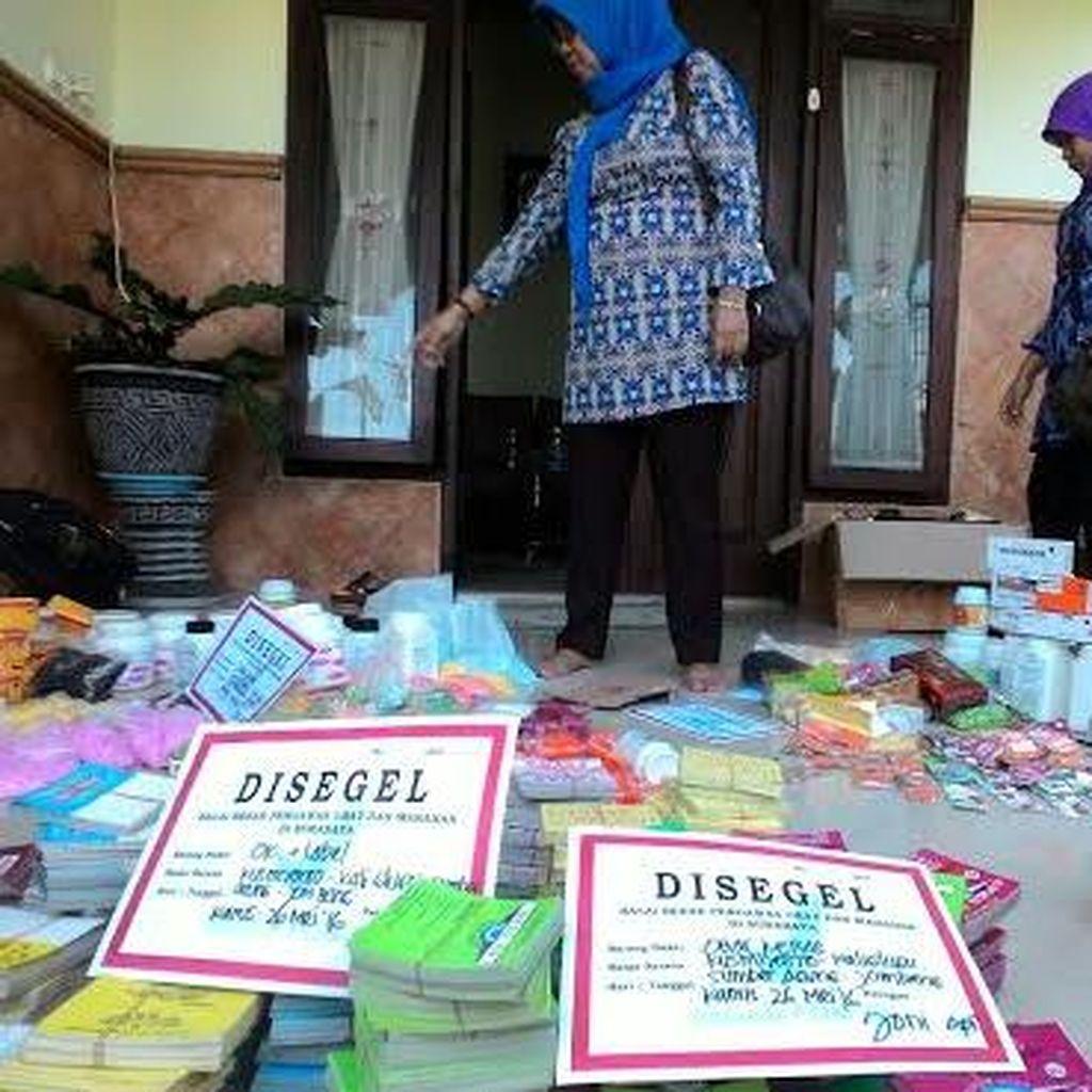 Puluhan Ribu Obat Keras Berbahaya dari Rumah Eks Sales Obat Disita