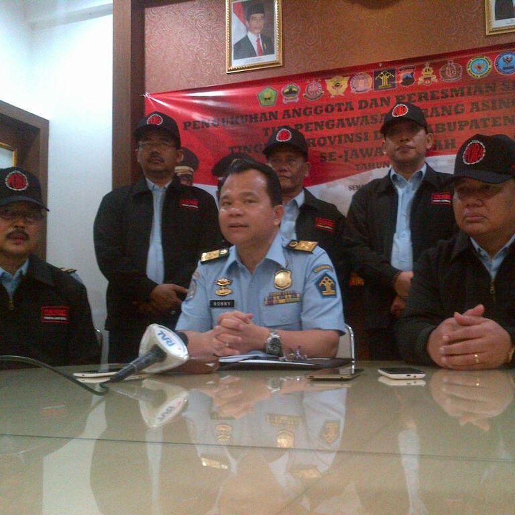 Tim Pora Jateng Akan Awasi WNA untuk Antisipasi Pelanggaran Hukum