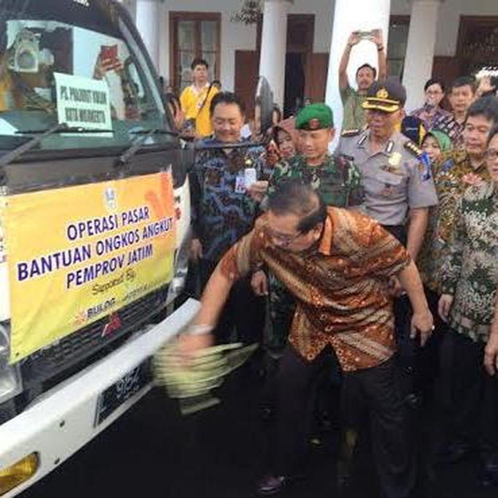 Pemprov Jawa Timur Kerahkan 78 Truk Operasi Pasar Jelang Ramadan