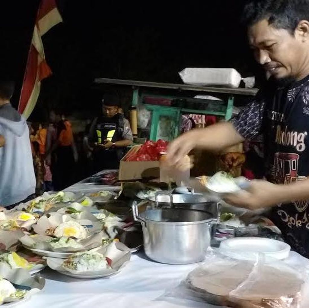 Warga Kota Mojokerto Serbu 10 Ribu Porsi Makanan Gratis