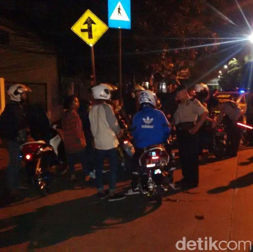 Polisi Amankan 24 Motor dari Lokasi Balapan Liar di Pasar Minggu