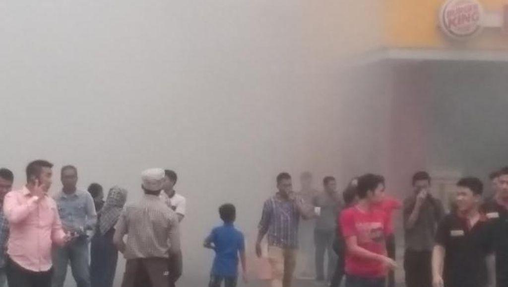 Kebakaran Terjadi di Rest Area Tol Cibubur
