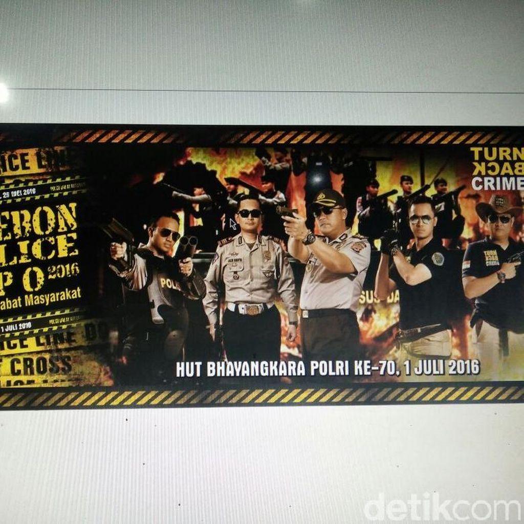 Dekatkan Polisi dengan Masyarakat, Polres Cirebon Gelar Pameran