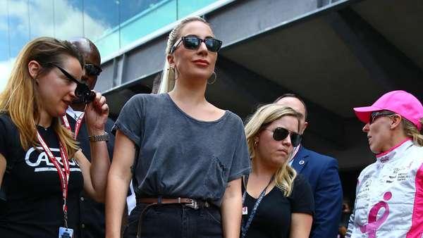 Ketika Lady Gaga Ikut Balapan