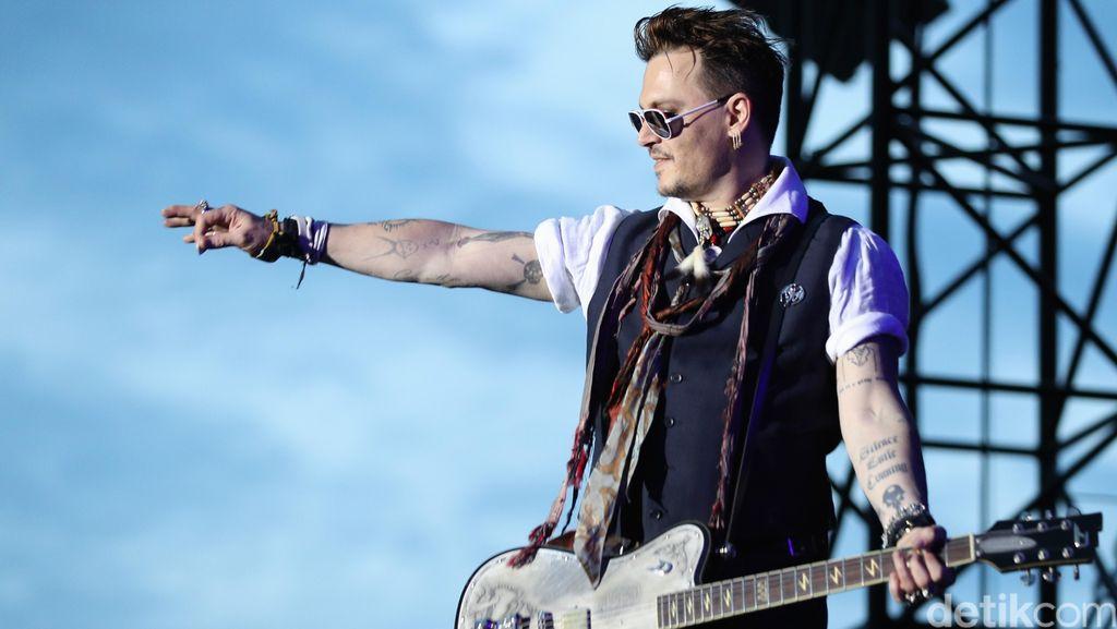 Kata Marilyn Manson Soal Tudingan KDRT Johnny Depp
