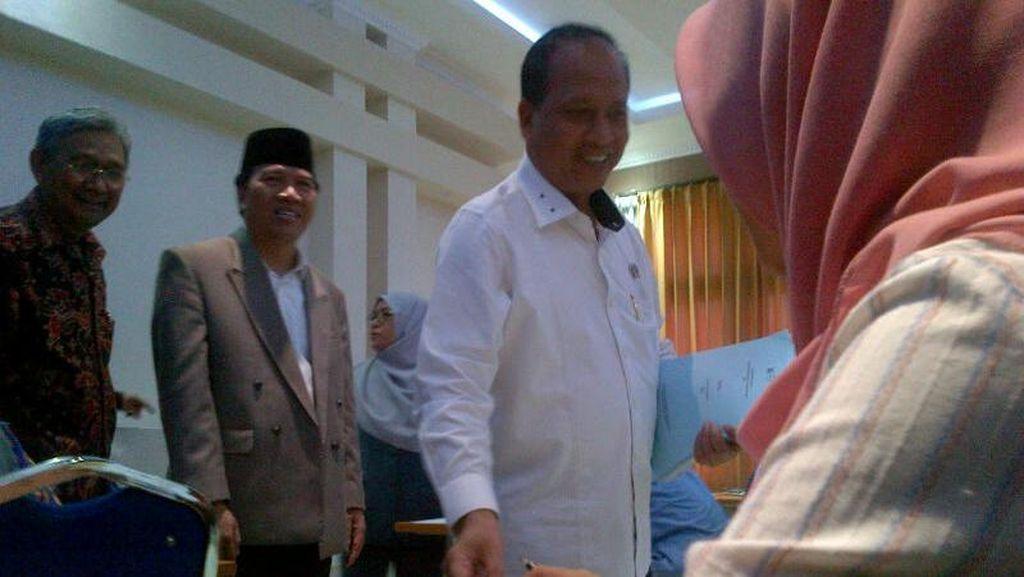 Penegasan Menteri Nasir soal Musibah SNMPTN SMAN 3 Semarang