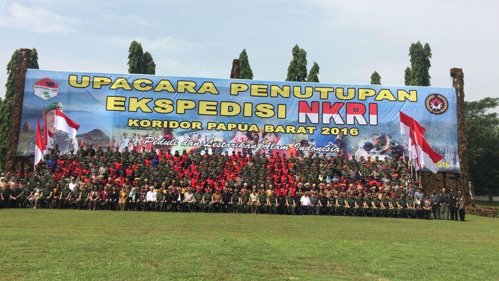 Tutup Ekspedisi NKRI Koridor Papua Barat, KSAD: Semoga Hasilnya Bermanfaat