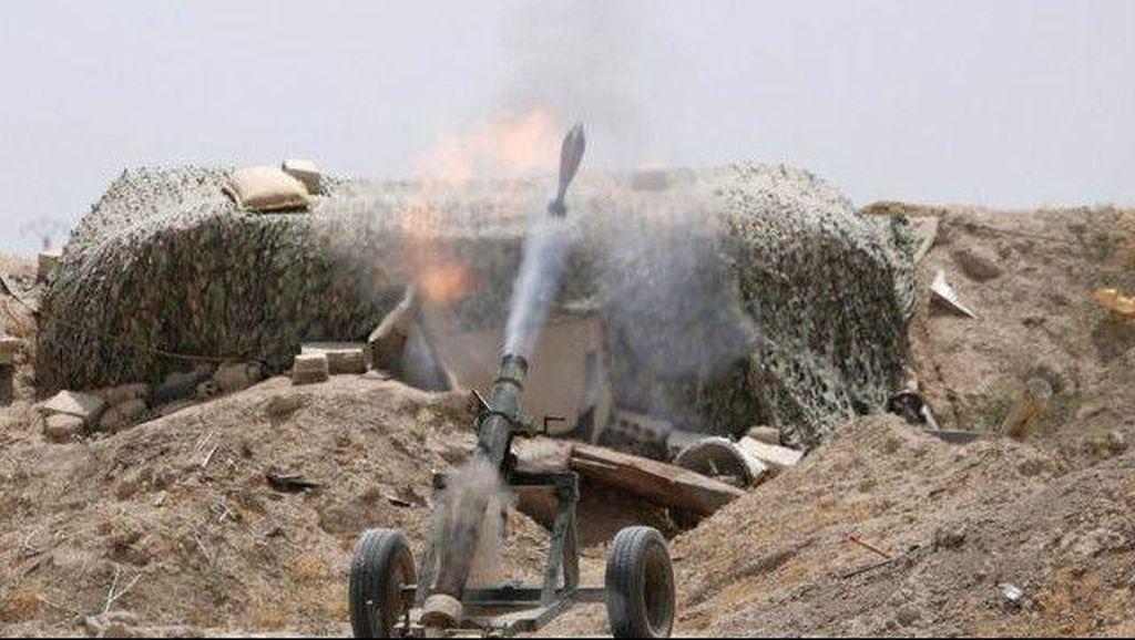 AS dan Sekutu Lancarkan Serangan, Puluhan Tentara Suriah Dikabarkan Tewas
