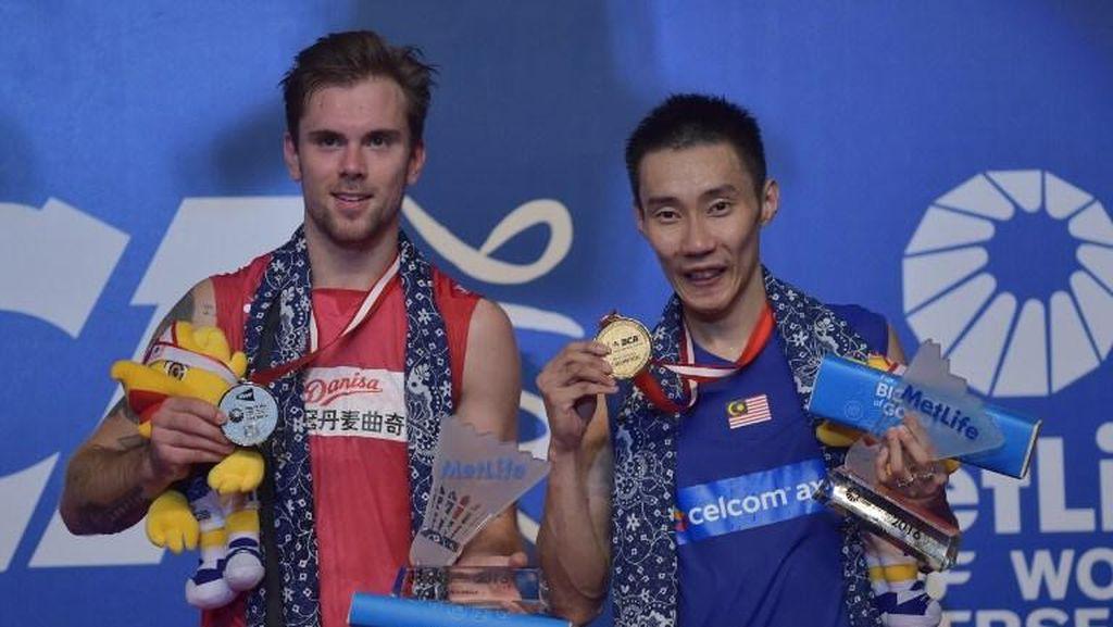 Lawan Chong Wei Jadi Final Terberat Jorgensen