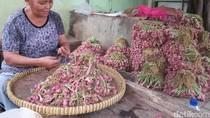 Hari Ke-3 Puasa, Bawang Merah di DKI Dijual Rp 40.000-44.000/kg
